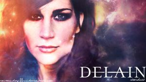 Delain - Stardust Wallpaper 2nd version by raimundogiffuni