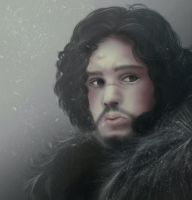 Jon Snow by Ereshkigalh