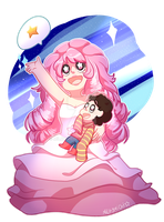 Steven And Rose by MilkyMichi