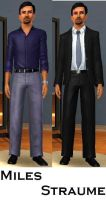 Miles Straume- Sims 3 by pudn