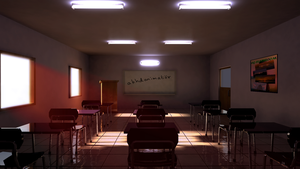 CG CLASSROOM by Akhdanhyder