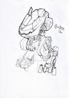 Mech Sketch Practice by Loone-Wolf