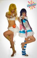 Panty and Stocking on TV!! 3 by As-Naye