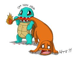 Squirtle goes evil by Tammiflu