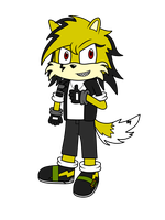 AT: Bolt the Wolf by XalenTheWolf