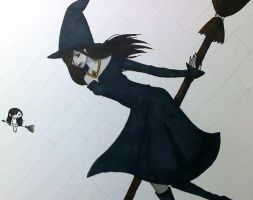 2008 witch by PartlyWrong