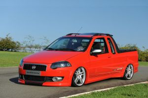 fiat  strada sporting style by Bruno--Design-2009