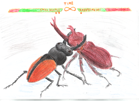 Japanese insect fighting by iampagan
