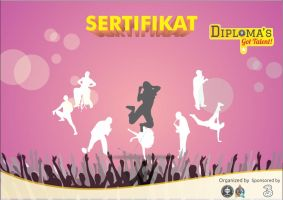 Sertifikat Diploma's Got Talent by dendicious