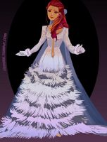Wedding dress- Starfire by Ceshira
