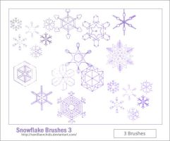 Snowflake Brushes 3 by VanillaOrchids