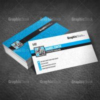 Modern Business Card PSD by graphicstock