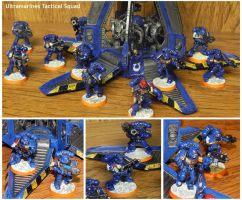 Ultramarines Tactical Squad by Koshindou