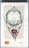 Sketch Monster 07 Dracula by mdavidct