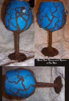 Bare Tree Chalice by The-IceKat