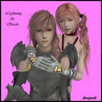 Farron Sisters XIII-2 by dnxpunk
