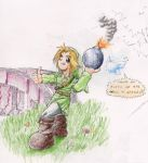 Link with a Bomb by ERIC-B
