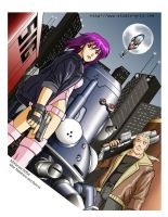 Ghost in the Shell SAC by RedShoulder