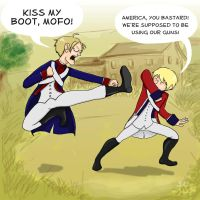 Kung Fu Revolutionary War by Mechanicold