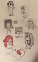 SU doodles by grenouille-rousse