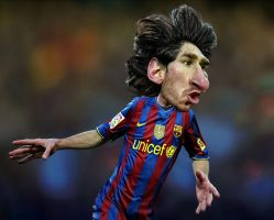 Lionel Andres Messi by RodneyPike