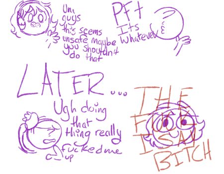 TEH FUKC I SAY by 123abcdrawwithme