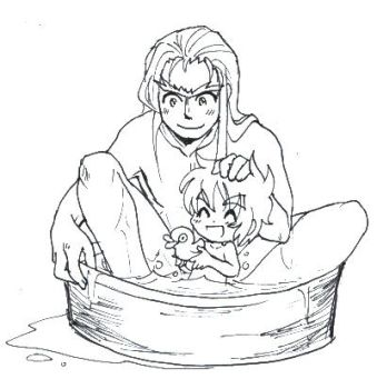 Bathing Time by MZ15