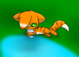 Squirrelflight by MillyTheTigerKitten