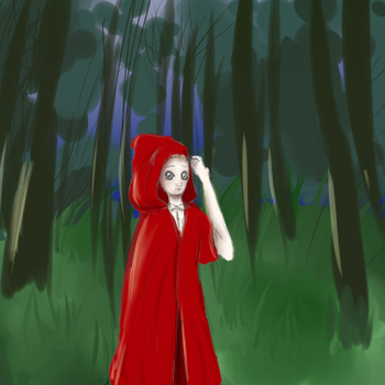 Red riding hood by TheInkLady
