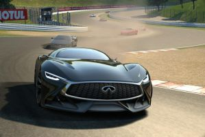 Infiniti Concept Vision GT vs Supercars by NightmareRacer85