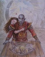 H.Y.F.D. Me and Neloth by TheShieldofOak