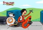Star Wars Time - Poe Dameron by DragonsTrace