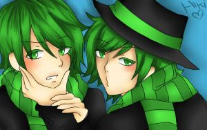 Shifty And Lifty [Happy tree friends] by Hikiko-chan