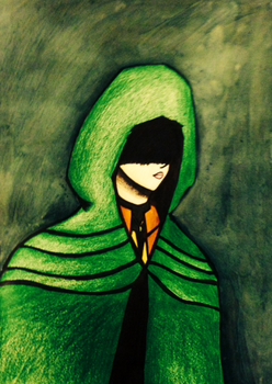 The Hooded Raider by violetpanda6410