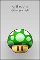 Green Shroom by HelmerN
