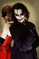 Dynamic Duo? - The Joker + Harley Quinn by Carancerth