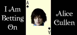 I'm betting on Alice Cullen by Belthazor1