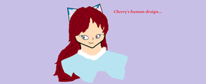 Cherry's humanish Design by JelloCherry123