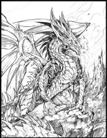 Arade Dragon comission by Chaos-Draco