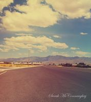 Road Landscape by HauntedVisions