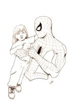Spider-man and Friend by ayelid