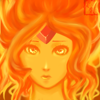 Flame Princess by lerysakon