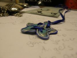 Fimo Bookmark Piece by MotherBlessing