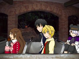 Pandora Hearts at Disney by xxx-TeddyBear-xxx