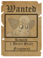 August Wanted Poster by StineBat47