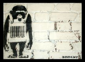 Monkey Barcode by brownos