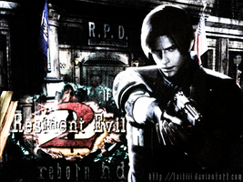 Resident Evil 2 Reborn - Alpha version. Poster by Taitiii