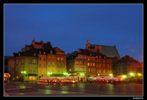 Warsaw by Night - II by adamsik