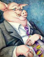 The Incredible Mr. Piggy by Kelii