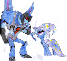 Thundercracker and Trixie by KrytenMarkGen-0